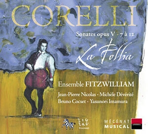 Arcangelo Corelli Seconda parte de l'Opus 5: A la flûte…!