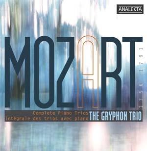 L'intégrale des Six trios avec piano de Mozart