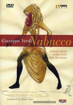 Scénographie condensée et réussie pour Nabucco!