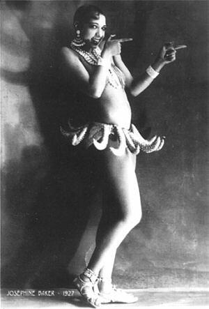 Joséphine Baker, triste hommage