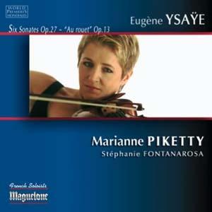 Les six sonates d' Ysaÿe version Marianne Piketty