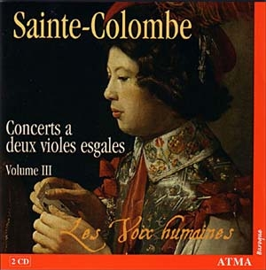 Caractères et couleurs selon Sainte-Colombe