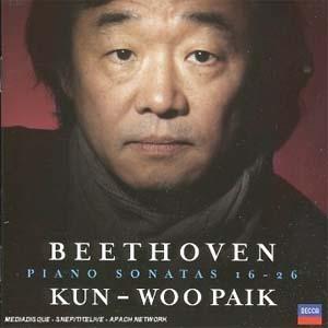 Sonates 16 à 26 de Beethoven par Kun-Woo Paik: portrait d'un héros