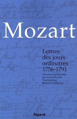 Mozart, lettres choisies