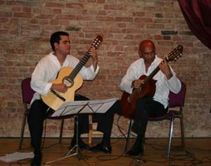 Guitares cubaines à Paris