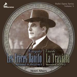 Une rareté de la préhistoire du disque d'opéra français
