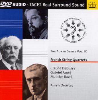 Quatuor Auryn Debussy Tacet