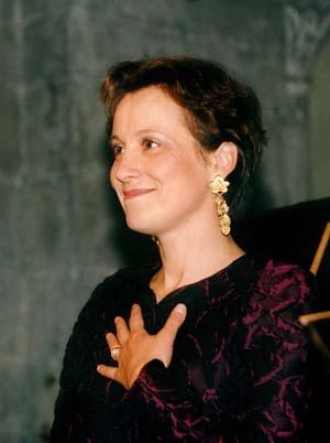 Agnès Mellon, La voix du recueillement.