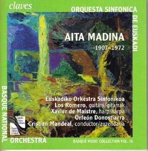 Aita Madina, prêtre, compositeur et basque