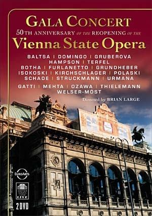Concert de gala pour le 50e anniversaire de la réouverture du Staatsoper