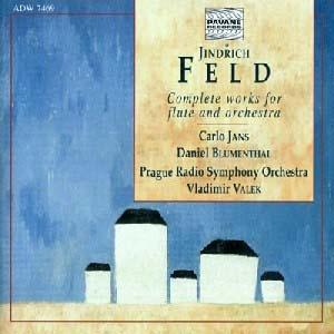 L' intégrale pour flûte et orchestre de Jindřich Feld
