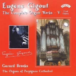 L' intégral pour orgue du bien sympathique Eugène Gigout