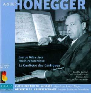 Trois inédits d'Arthur Honegger par l'OSR, c'est toujours bienvenu!