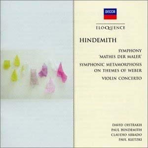 Une réédition Hindemith aux multiples qualités