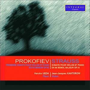 Kantorow et Ueda: Les sonates oubliées de Strauss et de Prokofiev