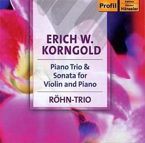Œuvres de jeunesse d'Erich Korngold