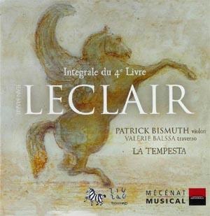 Jean-Marie Leclair: Il violino con la Tempesta