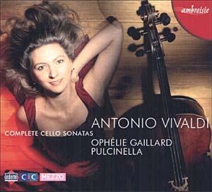 Sonates pour violoncelle de Vivaldi