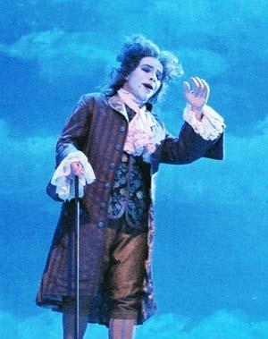 Mozart invité à l'inauguration du Théâtre des Arts