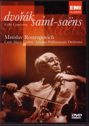 Classiques inusables Rostropovitch et Giulini