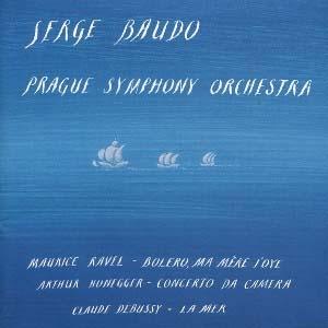 Interprétations sensibles de musique française par Serge Baudo