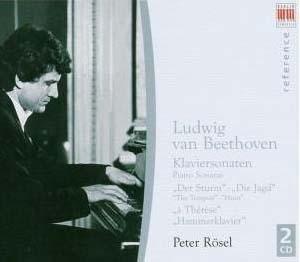Sonates de Beethoven par Rösel