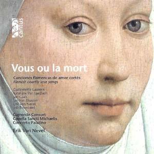Chansons flamandes d'amour courtois du XVe siècle