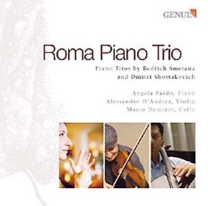 Roma piano trio, trios de Smetana et Chostakovitch