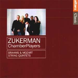 Les Quintettes de Mozart et de Brahms par les Zuckerman Chambers-Players