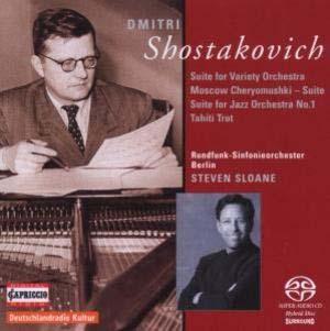 Chostakovitch version musique dansante et dansée