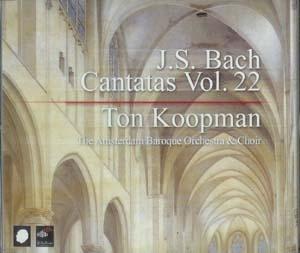 Cantates de Bach par Koopman: on achève bien les intégrales
