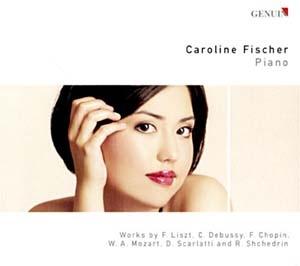 Caroline Fischer, déjà tout d'une grande