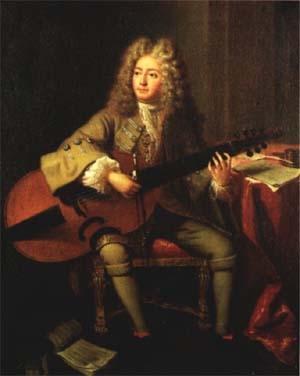 Marin Marais (1656- 1728), violiste et compositeur français de la période baroque.