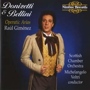 Raúl Giménez, le ténor belcantiste