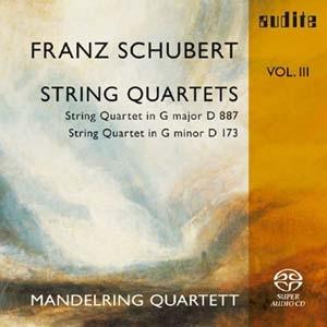 L'intégrale des quatuors de Schubert par les Mandelring Vol III
