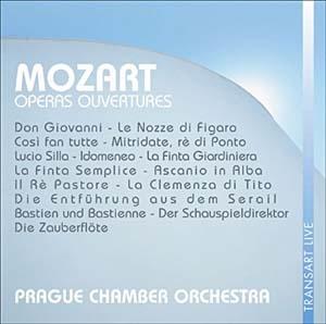 Ouvertures des opéras de Mozart