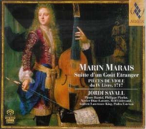 Marin Marais – Jordi Savall: le bonheur d'une fréquentation de plus de trente ans.