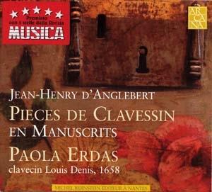 Jean-Henry d'Anglebert proposé par Michel Bernstein