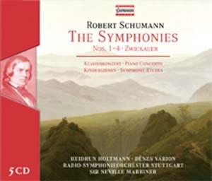 Les symphonies de Schumann par sir Neville Marriner