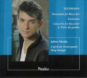 Telemann à la flûte à bec: quelques standards