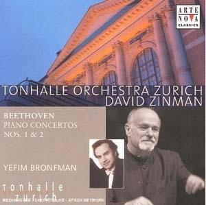 Yefim Bronfman et David Zinman dans Beethoven