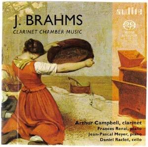 Une version sans couleurs de l'œuvre pour clarinette de Brahms