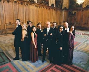 Le baroque à l'heure du jardin des voix 2007
