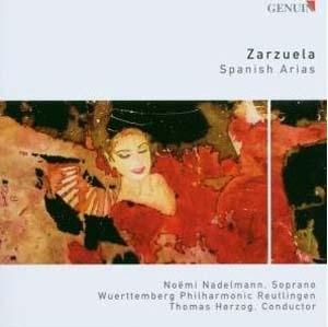 Zarzuela, arias espagnoles
