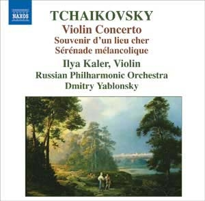 Orthodoxie russe totale pour l'œuvre violonistique de Tchaïkovsky