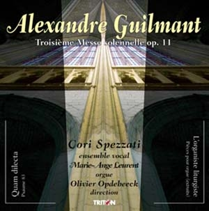 Alexandre Guilmant, Orgue et vocal