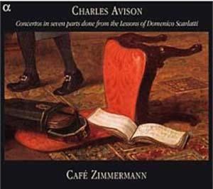 Avison, par le « Café Zimmermann »