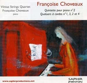 La composition, Françoise Choveaux, c'est son dada!
