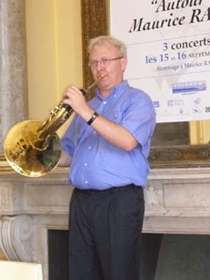 Eric Sombret: la passion chevillée au … cor