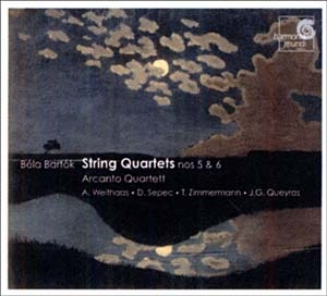 Deux quatuors de Bartók interprétés par l'Arcanto Quartett